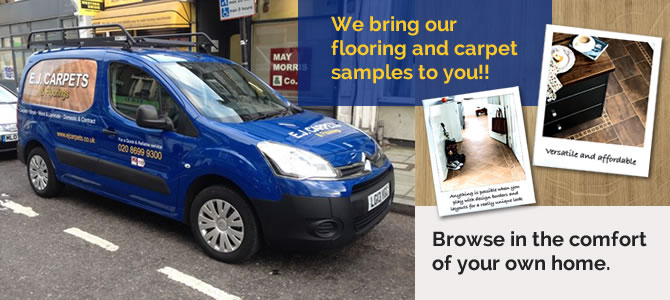 Flooring Supplier Van